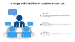 Manager With Candidate In Interview Vector Icon Ppt Inspiration Smartart PDF