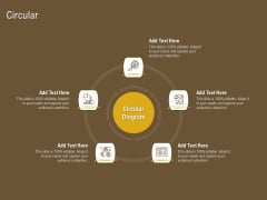 Managerial Accounting System Circular Ppt Infographics PDF