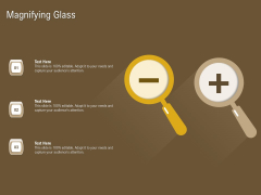 Managerial Accounting System Magnifying Glass Ppt Icon Graphics Pictures PDF