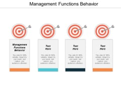 Managerial Functions Ppt Powerpoint Presentation Outline Styles Cpb