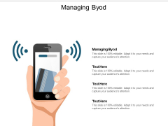 Managing Byod Ppt PowerPoint Presentation Slides Tips Cpb