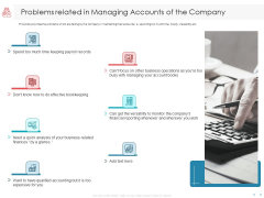 Managing CFO Services Problems Related In Managing Accounts Of The Company Structure PDF
