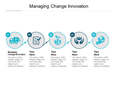 Managing Change Innovation Ppt PowerPoint Presentation Icon Topics Cpb