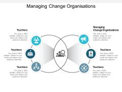Managing Change Organisations Ppt PowerPoint Presentation Inspiration Maker Cpb
