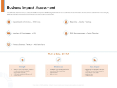 Managing Companys Online Presence Business Impact Assessment Download PDF