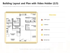 Managing Construction Work Building Layout And Plan With Video Holder Building Layout Elements PDF