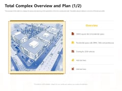 Managing Construction Work Total Complex Overview And Plan Total Complex Ppt Infographics Files PDF