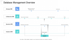 Managing Customer Experience Database Management Overview Pictures PDF
