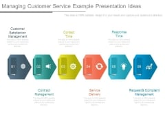Managing Customer Service Example Presentation Ideas
