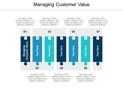 Managing Customer Value Ppt Powerpoint Presentation Infographics Background Cpb