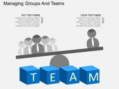 Managing Groups And Teams Powerpoint Templates