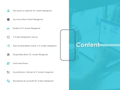 Managing ITIL Incidents Planning Content Introduction PDF