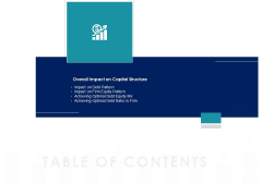 Managing Organization Finance Table Of Contents Impact Ppt Slides Example Topics PDF