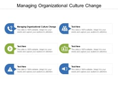 Managing Organizational Culture Change Ppt PowerPoint Presentation File Outfit Cpb