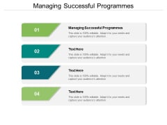 Managing Successful Programmes Ppt PowerPoint Presentation File Structure Cpb