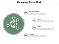 Managing Tasks Work Ppt PowerPoint Presentation Professional Introduction