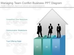 Managing Team Conflict Business Ppt Diagram