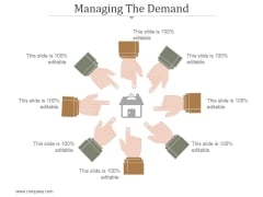 Managing The Demand Ppt PowerPoint Presentation Rules