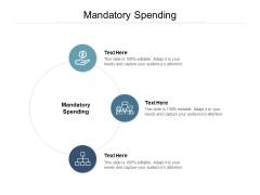 Mandatory Spending Ppt PowerPoint Presentation Outline Slide
