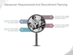 Manpower Requirements And Recruitment Planning Ppt PowerPoint Presentation Layout