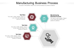 Manufacturing Business Process Ppt PowerPoint Presentation Ideas Summary Cpb Pdf