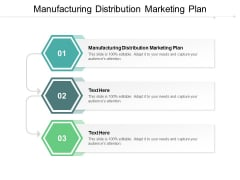 Manufacturing Distribution Marketing Plan Ppt PowerPoint Presentation Infographics Slide Cpb