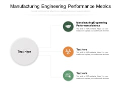 Manufacturing Engineering Performance Metrics Ppt PowerPoint Presentation Gallery Skills Cpb