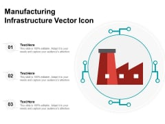 Manufacturing Infrastructure Vector Icon Ppt PowerPoint Presentation Gallery Slides PDF