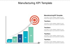 Manufacturing KPI Template Ppt PowerPoint Presentation Layouts Clipart Images Cpb