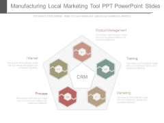 Manufacturing Local Marketing Tool Ppt Powerpoint Slides