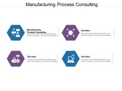 Manufacturing Process Consulting Ppt PowerPoint Presentation Layouts Ideas Cpb Pdf
