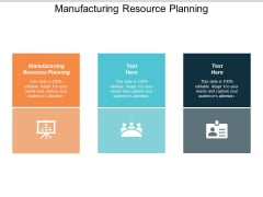Manufacturing Resource Planning Ppt PowerPoint Presentation Gallery Information Cpb