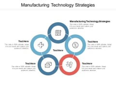 Manufacturing Technology Strategies Ppt PowerPoint Presentation Portfolio Clipart Images Cpb