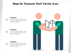 Map For Treasure Hunt Vector Icon Ppt PowerPoint Presentation Inspiration Maker PDF