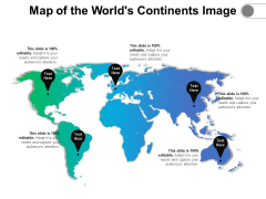 Map Of The Worlds Continents Image Ppt PowerPoint Presentation File Clipart PDF