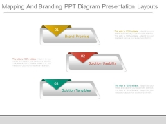 Mapping And Branding Ppt Diagram Presentation Layouts