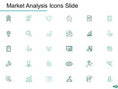 Market Analysis Icons Slide Ppt Powerpoint Presentation Ideas Example