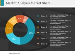 Market Analysis Market Share Ppt PowerPoint Presentation Icon Files