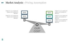 Market Analysis Pricing Assumption Ppt PowerPoint Presentation Example