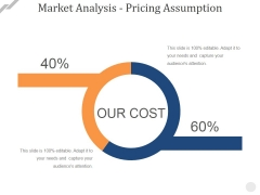 Market Analysis Pricing Assumption Ppt PowerPoint Presentation Gallery Icon