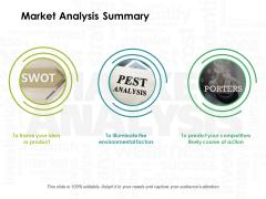 Market Analysis Summary Ppt PowerPoint Presentation Inspiration