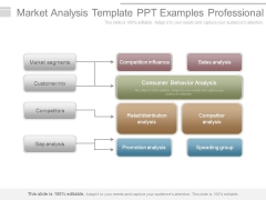 Market Analysis Template Ppt Examples Professional