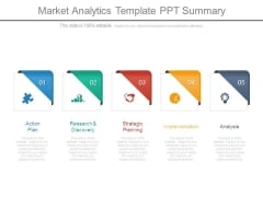Market Analytics Template Ppt Summary