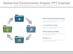 Market And Environmental Analysis Ppt Example