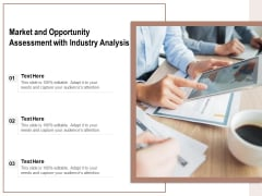 Market And Opportunity Assessment With Industry Analysis Ppt PowerPoint Presentation File Templates PDF