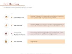 Market Assessment Exit Barriers Ppt Slides Clipart Images PDF