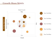 Market Assessment Growth Share Matrix Ppt Show File Formats PDF