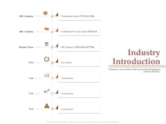 Market Assessment Industry Introduction Ppt Outline PDF