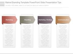 Market Branding Template Powerpoint Slide Presentation Tips