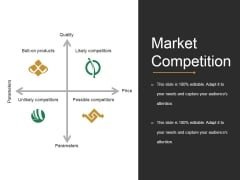Market Competition Ppt PowerPoint Presentation Icon Format